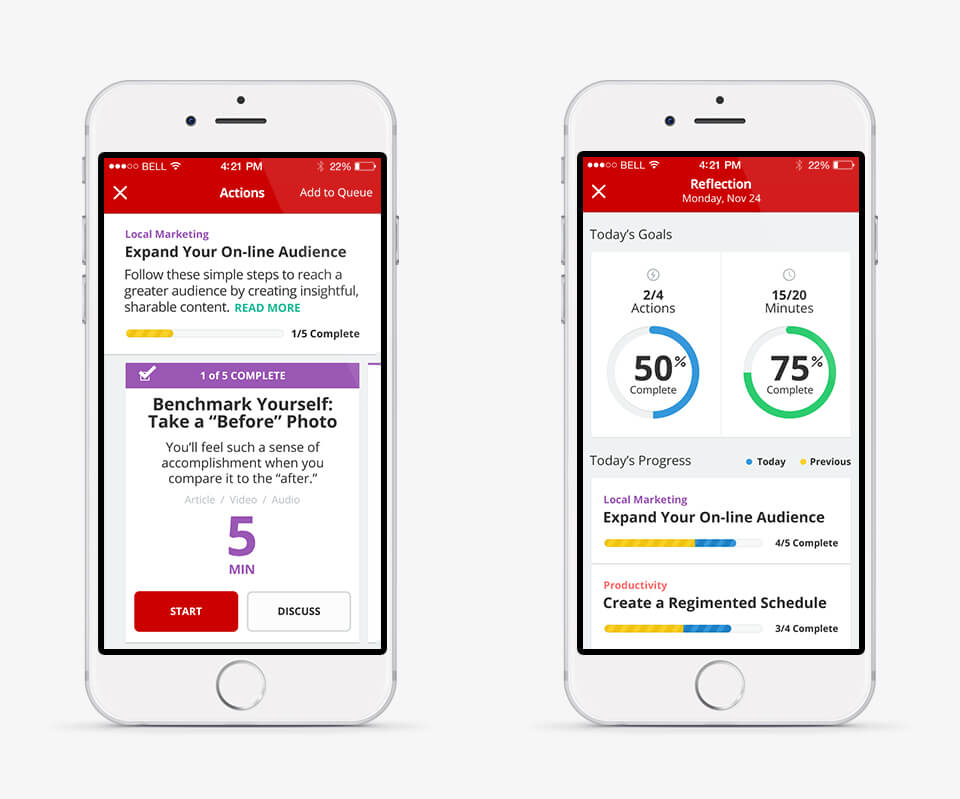 Staples Quick Wins Mobile Flow